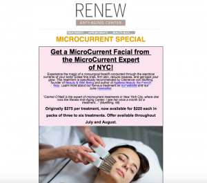 Preview to Limited Time Microcurrent Special Newsletter