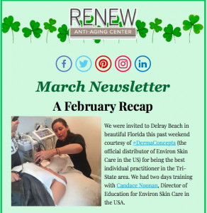 Preview to March Newsletter