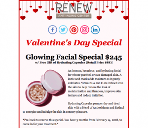 Preview to Valentine's Day Special Newsletter
