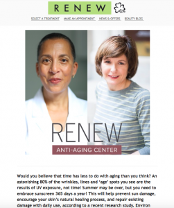 Preview New Environ range newsletter