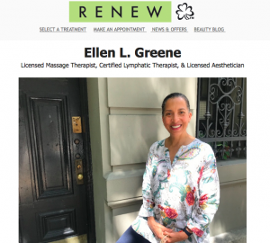Preview of A New Face at Renew Newsletter