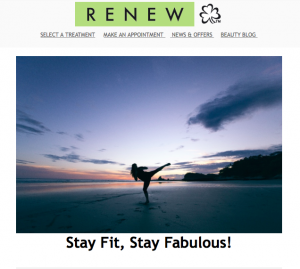 Preview of Stay Fit, Stay Fabulous! Newsletter