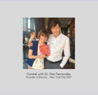 Carmel with Dr Des Fernandes